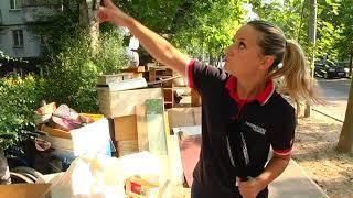 У Запоріжжі жінку із речами викинули із квартири, яку віддали поліцейській