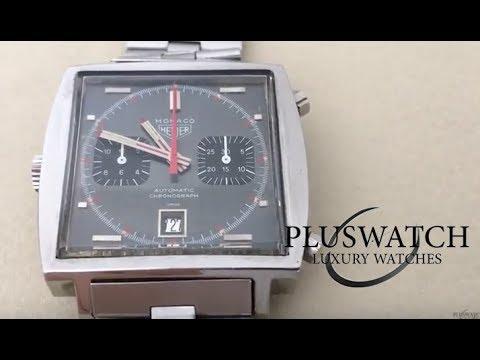 Heuer Monaco Original Vintage Steve McQueen Mancino Chronograph 033 3119