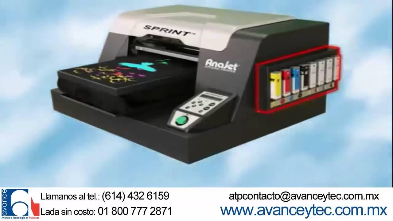 bd93a470fef6b Equipo AnaJet para Impresión directa en Textiles Impresora para playeras  Anajet México