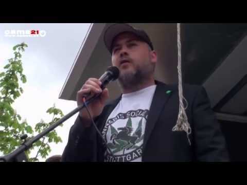 02.05.2015 Global Marijuana March (GMM) in Stuttgart
