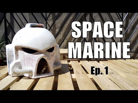 How to make a Space Marine Suit Ep 1 (UNOFFICIAL BUILD)