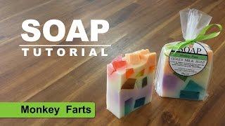 Monkey Farts Melt and Pour Soap Tutorial