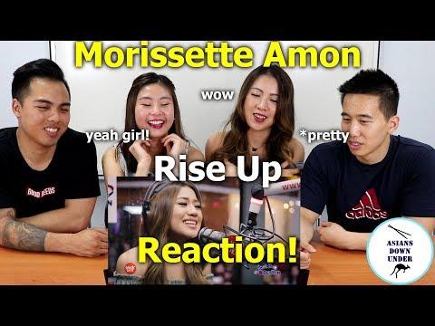Morissette Amon - Rise Up LIVE on Wish 1075 Bus | Reaction Video - Aussie Asians