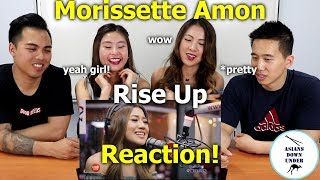 Morissette Amon - Rise Up LIVE on Wish 1075 Bus | Reaction Video - Aussie Asians
