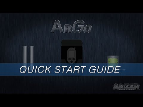 Arizer Go – Quick Start Guide