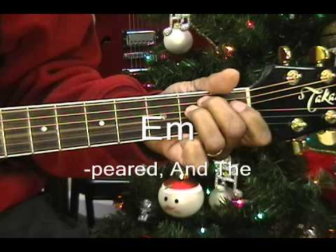 O Holy Night How To Play On Guitar Lesson/Cover NazarethCityLimits w TABS