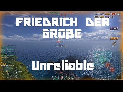 Stock Friedrich der Große - Unreliable But Fun