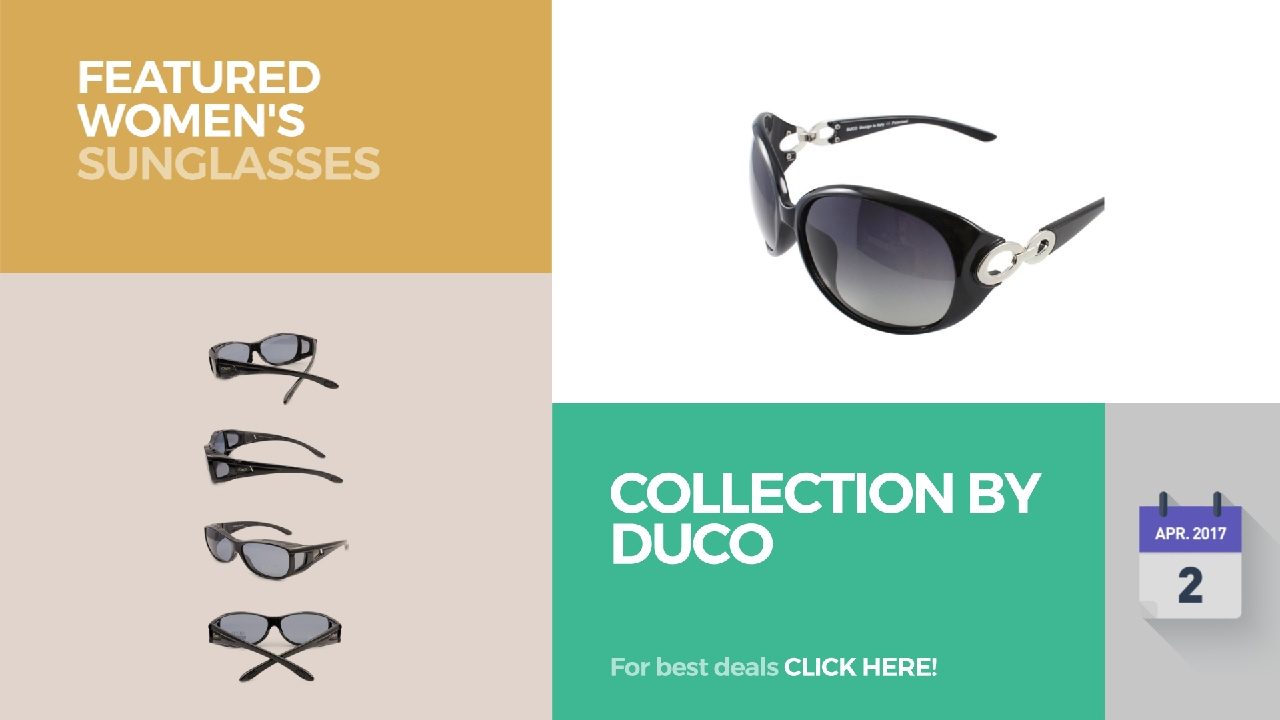 ee28c006e5 Collection By Duco Featured Women s Sunglasses - YouTube