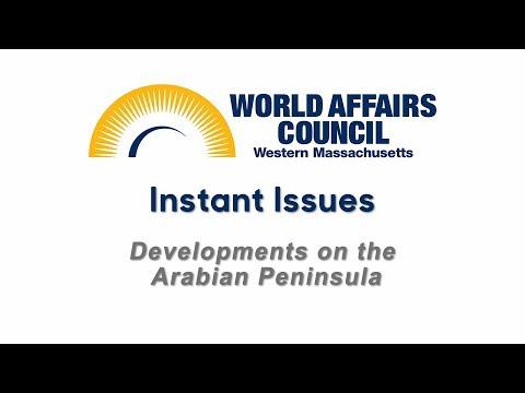 Developments on the Arabian Peninsula