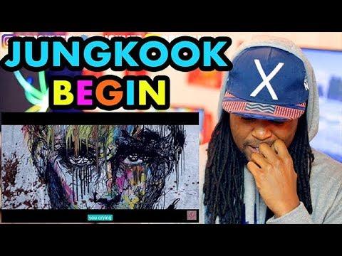 Jeon Jungkook (BTS) - Begin | REACTION!!! | FAN MADE MV