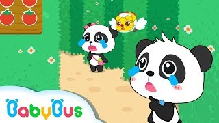 Baby Panda Got Lost in Castle | Strange Fruit Maze | Math Kingdom Adventure 3 | BabyBus Cartoon