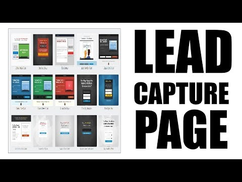 Create a lead capture page in less than 5 minutes!