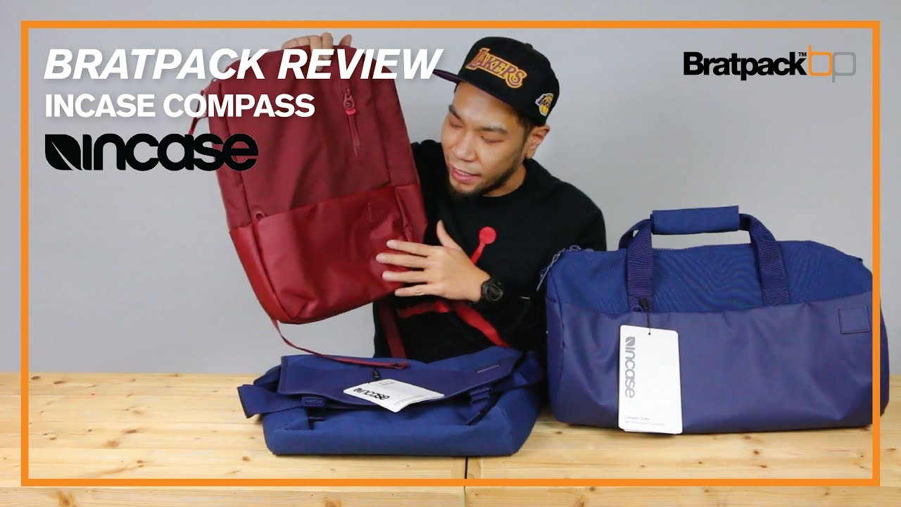 b8dabb3874a BRATPACK REVIEW EP18   INCASE COMPASS - YouTube