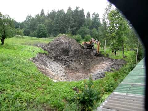 Pond Digging Time Lapse Youtube
