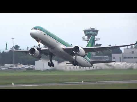 Air Canada Shannon airport inagural, Shannon airport spotting 2/6/18
