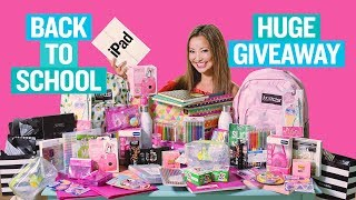 BIGGEST Back to School Giveaway EVER! 2018 (iPad, Makeup, Instax Mini) OPEN INTERNATIONALLY