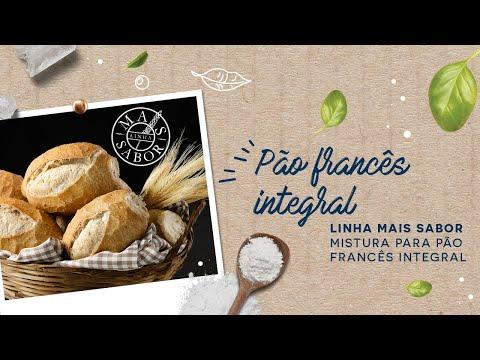 Pão Francês Integral — Linha Mais Sabor Mistura para Pão Francês Integral