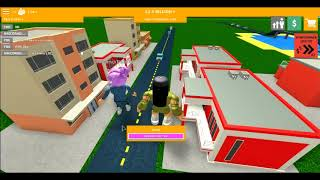 Playing Roblox City Architect With A New Friend