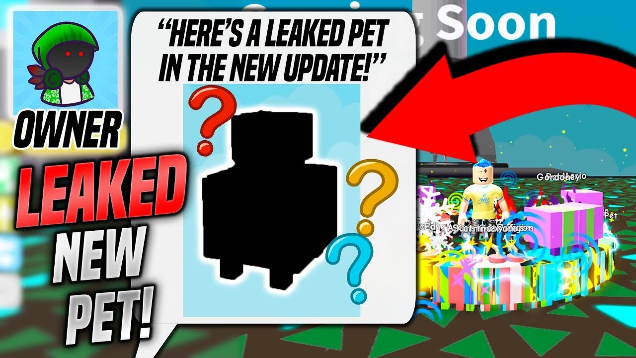 Roblox Pet Simulator Russoplays The Owner Of Pet Simulator Sent Me A Leaked Pet Roblox Youtube