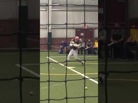 Jeff LaRosa Hitting Tape - - SS, Conard High School c/o 2019