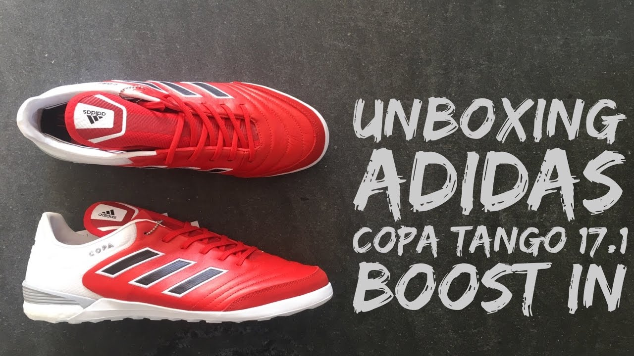 online store 7abcc 083b2 Adidas Copa Tango 17.1 IN Red Limit  football shoes  brand new 2016   HD - YouTube