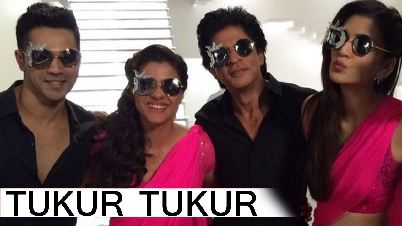 Tukur Tukur - Dilwale Song | Arijit Singh | Shahrukh Khan, Kajol, Varun,  Kriti | Full Song Review
