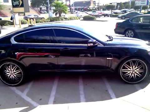 713 Motoring All Black Jaguar Xf Youtube