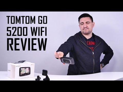 UNBOXING & REVIEW - TomTom GO 5200 cu WiFi - GPS-ul absolut, aproape (www.buhnici.ro)