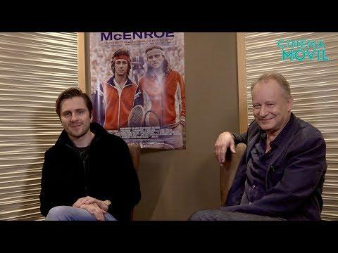 Stellan Skarsgard y Sverrir Gudnason hablaron sobre 'Borg Vs McEnroe'