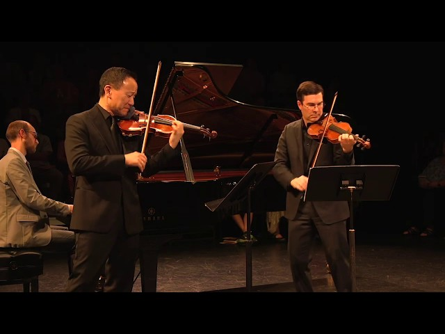 Moszkowski Suite for Two Violins and Piano - feat. David Kim and Nathan Cole (2019)