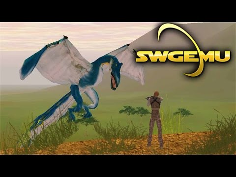 Star Wars Galaxies Gameplay – Running Missions on Naboo – Live Stream VOD (SWGEmu Basilisk)