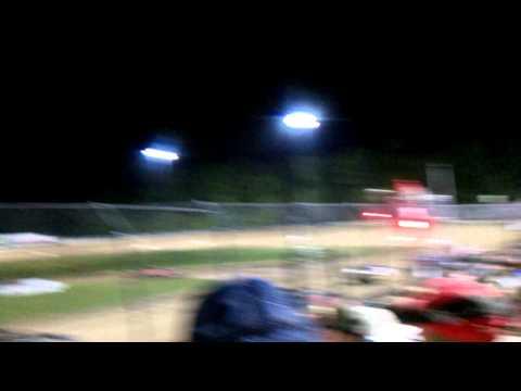 Fuel fire at Ocala Speedway