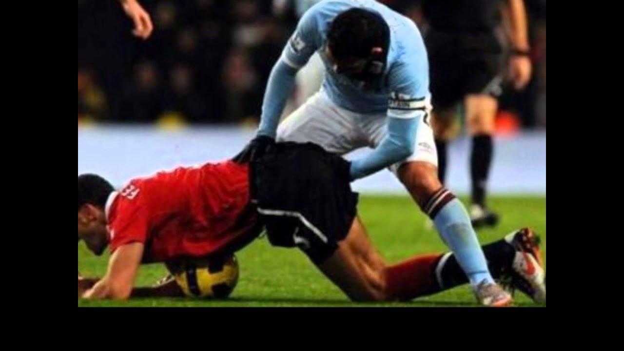 Witzige Fußballbilder