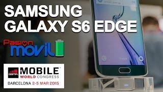 Samsung Galaxy S6 EDGE en el Mobile World Congress 2015!