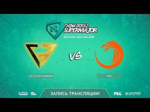 Clutch Gamers vs TNC, China Super Major SEA Qual, game 2 [Mortalles]