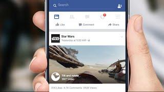 llegan los vdeos en 360 grados a facebook