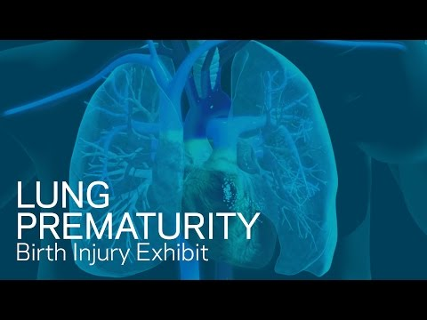 Lung Prematurity - Birth Trauma Animation