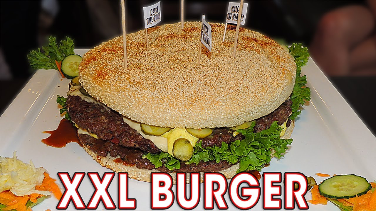 3kg xxl burger challenge in germany youtube. Black Bedroom Furniture Sets. Home Design Ideas
