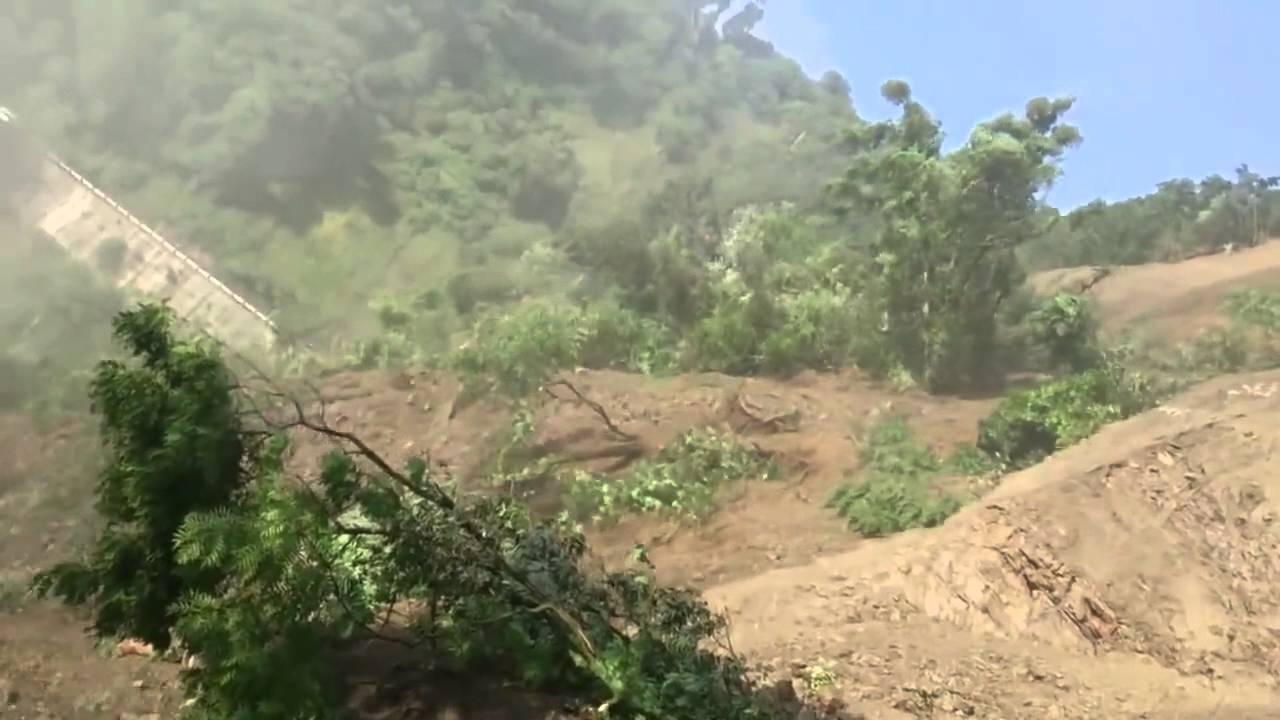 Live land Sliding Video | Amazing Video