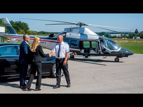 VIP helicopter hire | Helicopter charter for business or private travel | BHS Aviation