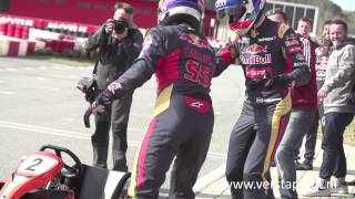 The F1 karting challenge - STR vs. RBR: Verstappen/Sainz vs. Ricciardo/Kvyat (18/02/2015)