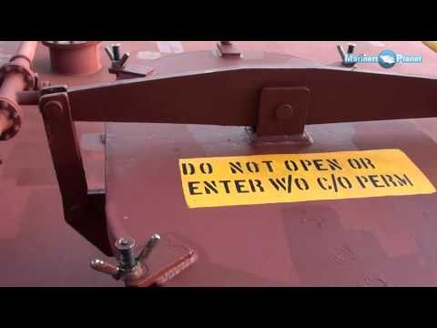 Merchant Navy Ship Cargo Oil Tank Cover, Dome video demo