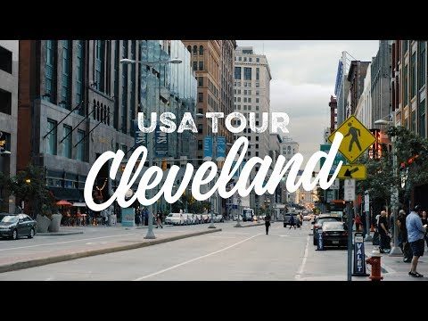 We made it to Cleveland! // USA Vlog #1