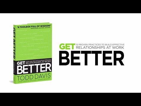 Get Better by Todd Davis