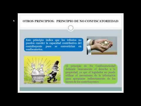 Fuentes y principios del Derecho tributario from YouTube · Duration:  13 minutes 37 seconds