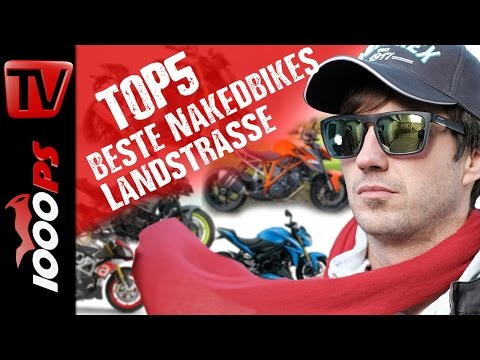 Top 5 - Die besten schärfsten Nakedbikes auf der Landstrasse - Nakedbike Vergleich Gebrauchte