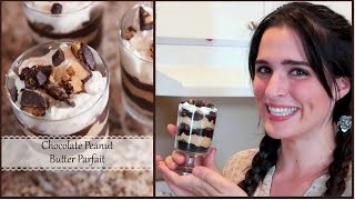 How To Make A Chocolate, Peanut Butter Parfait!