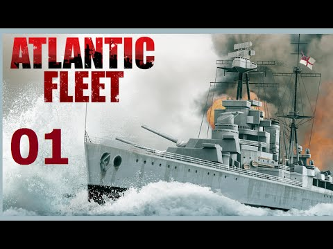 Atlantic Fleet | Let's Play Germany - 01 Battle of the Atlan