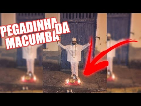 PEGADINHA DA MACUMBA - Black magic prank
