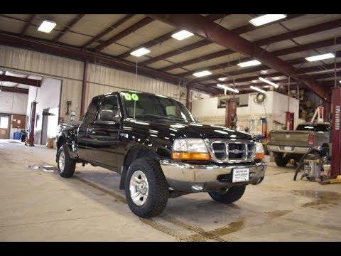 2000 Black Ford Ranger Xlt 4x4 Ft6432b Motor Inn Auto Group Youtube